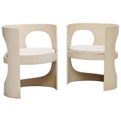 Arne Jacobsen Pre Pop Chairs Asko Finland, 1969