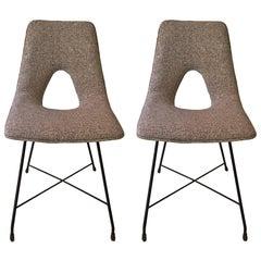 Couple of Chairs, Design Augusto Bozzi Saporiti, 1950