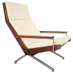 Lounge Chair Model Lotus by Dutch Industrial Designer Rob Parry, 1960s, Holland