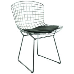Vintage Mid-Century Side Chair Designed by Harry Bertoia for Knoll