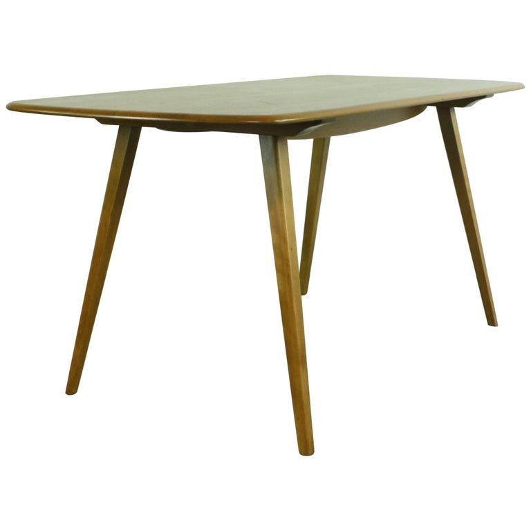 Vintage Midcentury British Ercol Plank Dining Table For  : 8426793master from www.1stdibs.com size 768 x 768 jpeg 25kB