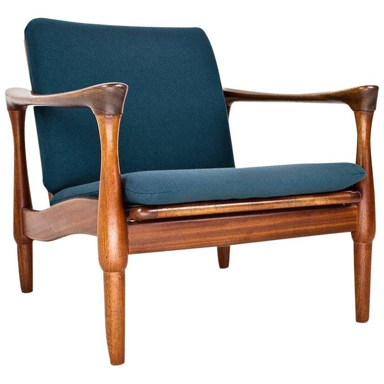 Lounge Chair in Manner of Kai Kristiansen 1960s, Danish Design