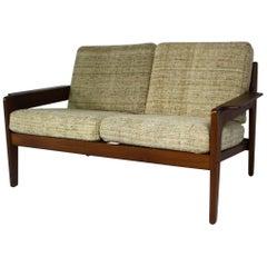 Arne Wahl Iversen Vintage Danish Teak Sofa for Komfort, 1960s