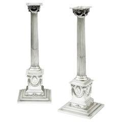 Classical Ionic Column Candlesticks made by John Carter II
