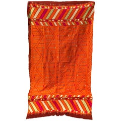 Vintage Phulkari Bagh Wedding Shawl from Punjab, India