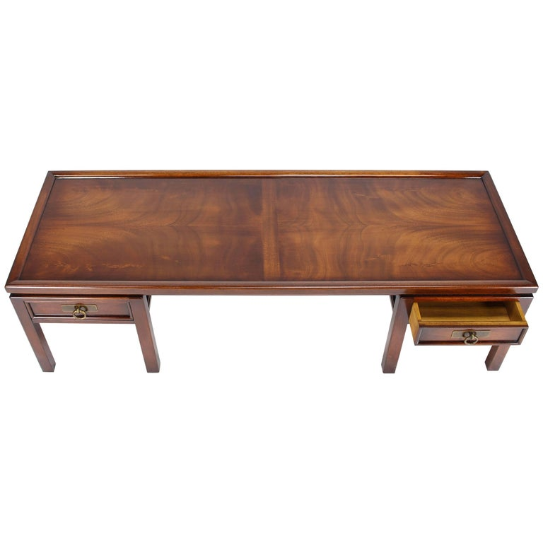 Slate Coffee Table With Drawers: Dorothy Draper Espana Collection Ivory And Slate Coffee