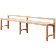 Stumpy Bench by Sue Skeen for the New Craftsmen
