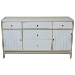 Mid-Century Two-Toned Lacquered Sideboard/Server