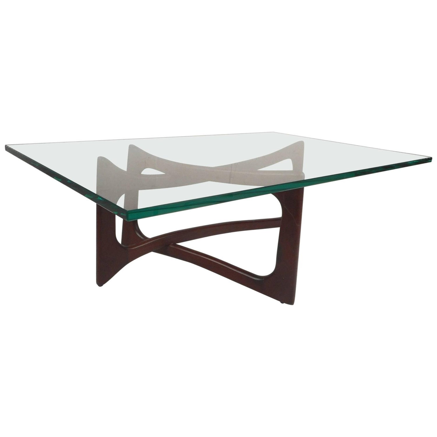 Mid Century Modern Coffee Table by Adrian Pearsall Model 2450 TK