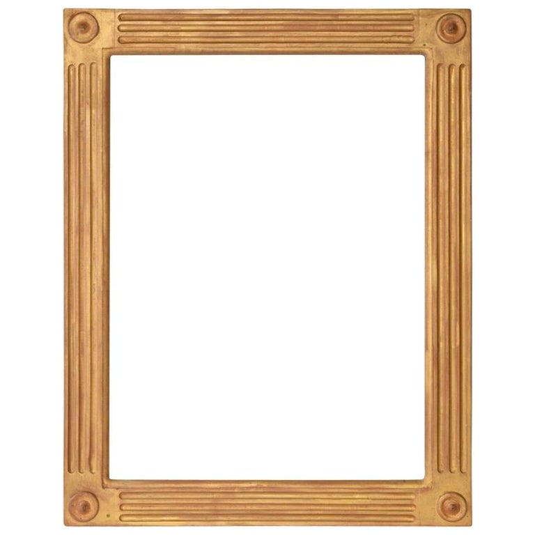 Neoclassical Style Mirror or Picture Frame For Sale