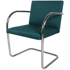 Mies Van Der Rohe for Knoll Tubular Brno Chairs x 4