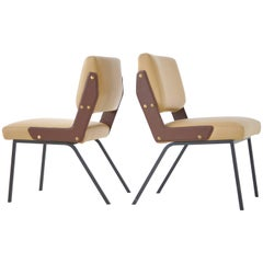 "Gustavo Pulitzer ""Albenga"" Side Chairs for Arflex"