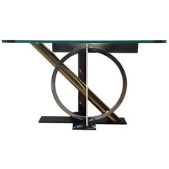 Memphis Style Console Table by Kaizo Oto for Design Institute America