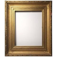 American Hudson River School Gilded Wood Frame / Mirror
