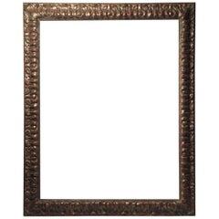 Vintage 20th Century Italian Decorator Frame Mirror Baroque Style