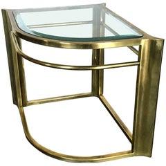 Mastercraft Brass End Table