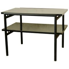 Don Knorr Iron and Laminate Side Table for Vista