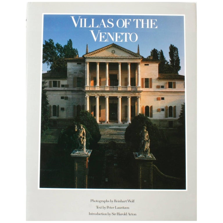 """Villas of the Veneto"", First Edition Book For Sale"