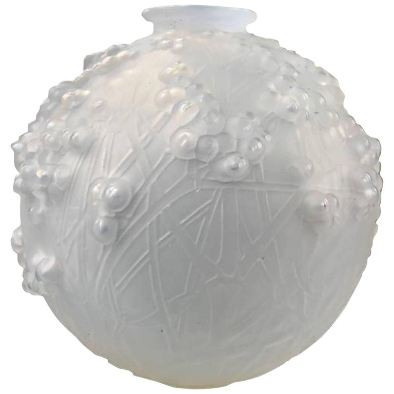 Lalique Glass Vase Druides Circa 1920 For Sale At 1stdibs