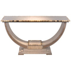 Silver Maple Excelsior Console Table