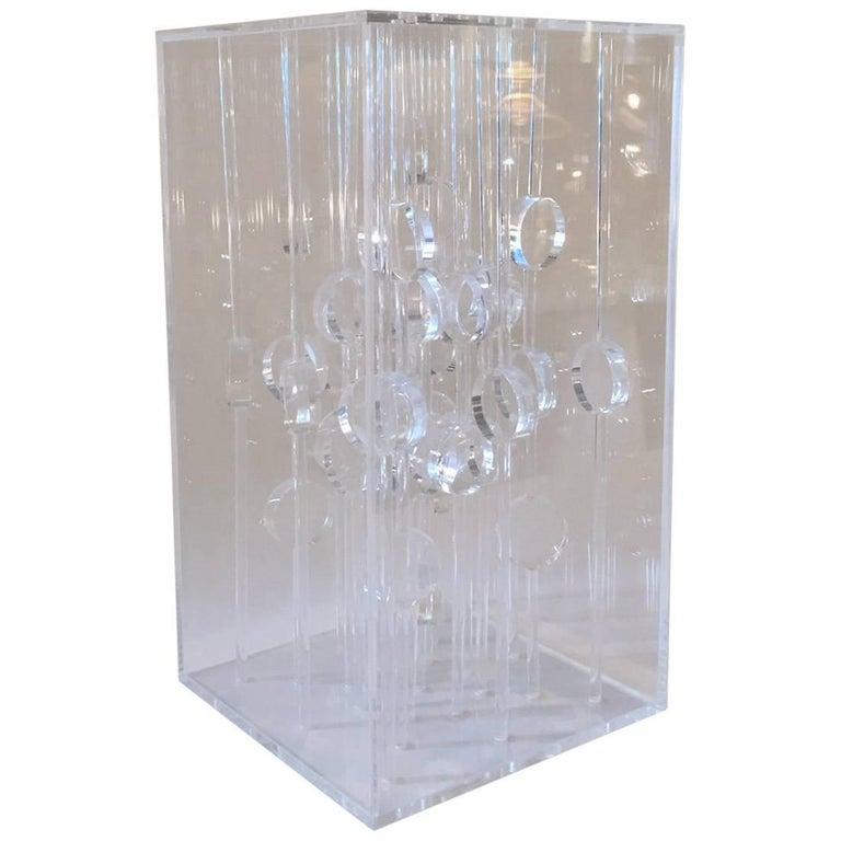 Martha S. Boto, Sculpture Collone a, Plexiglass, circa 1968, Italy