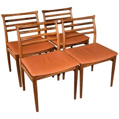 Erling Torvits Rosewood Mid-Century Dining Chairs