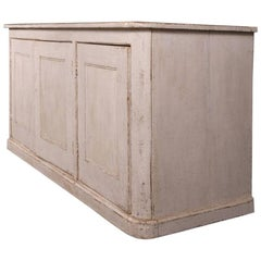 19th Century French Painted Enfilade