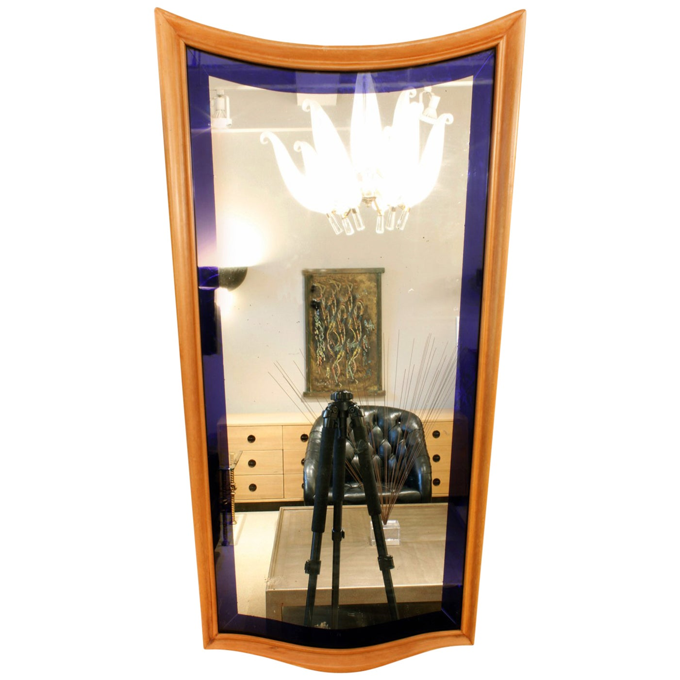 Stunning Italian Art Deco Mirror, 1930s