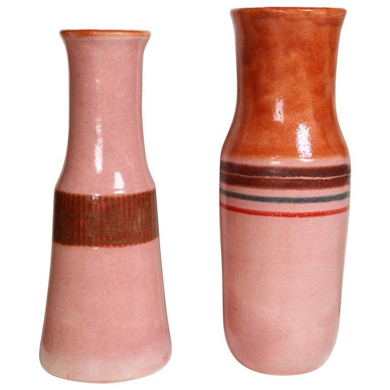 Bruno Gambone, Two Ceramic Vases 1