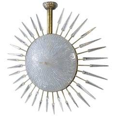 Big Murano Spikes Pendant