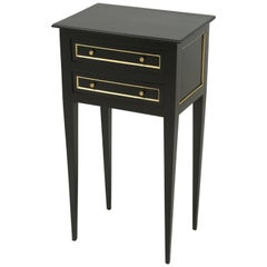 French Louis XVI Style Nightstand or End Table