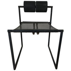 "Original Mario Botta ""Seconda"" Armless Chair by Alias"