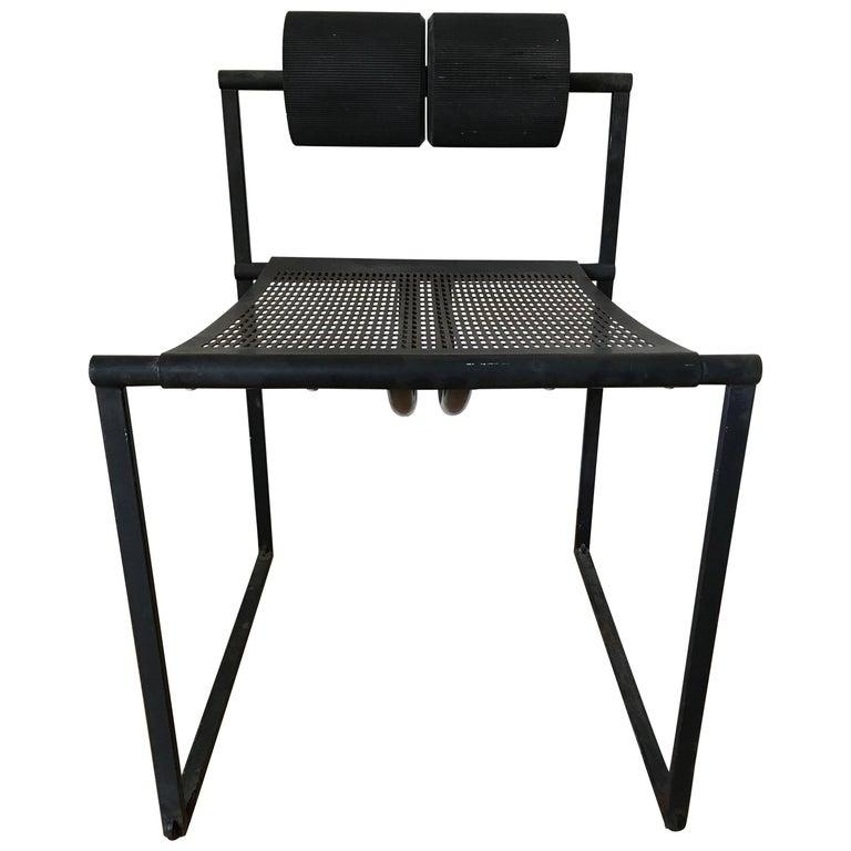 "Original Mario Botta ""Seconda"" Armless Chair by Alias"