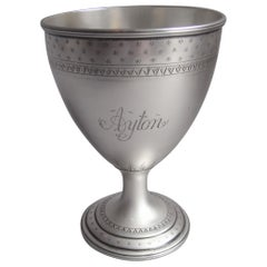 Very Rare George III Racing Prize Goblet made in York by Hampston & Prince