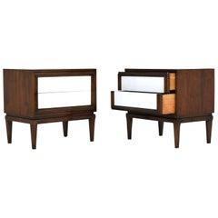 Pair of Mid-Century Modern-Style Nightstands