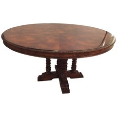 Ralph Lauren Centre or Dining Room Table Flame Mahogany in Georgian Style