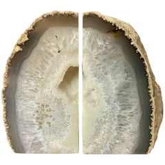 Pair of Vintage Geode Bookends