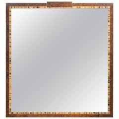 White Ebony Excelsior Mirror