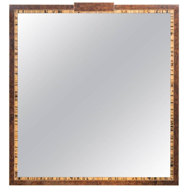 White Ebony Excelsior Mirror