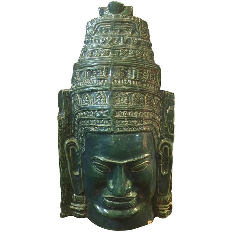 Vintage Asian Statue For Sale