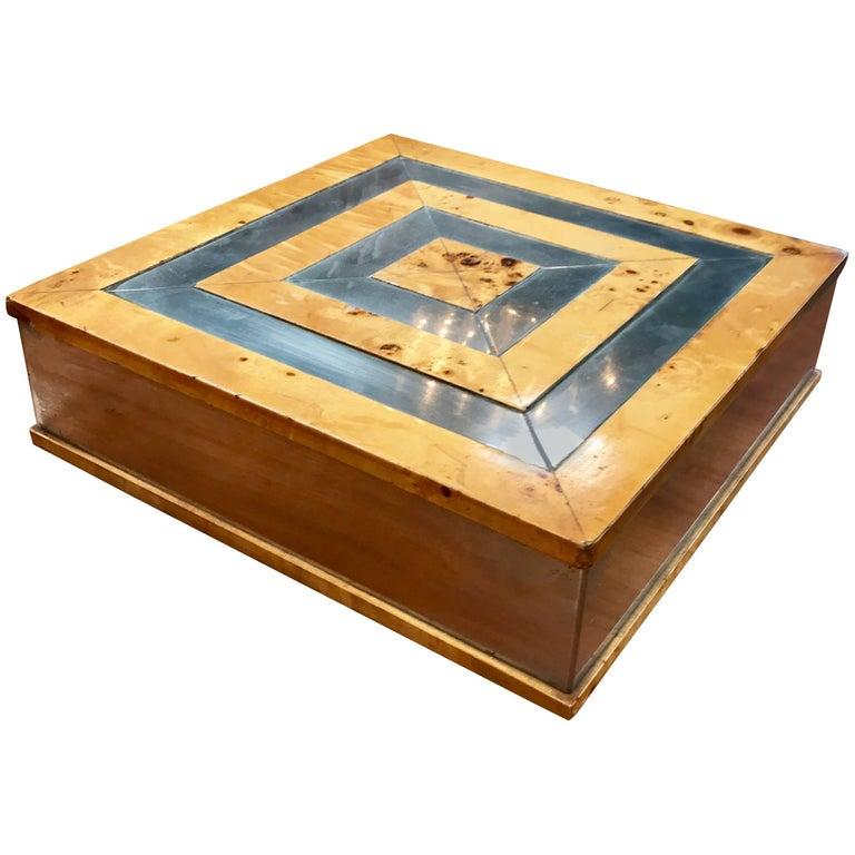 Tommaso Barbi 1960 Jewelry Box in  Birch