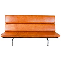 1958 Charles and Ray Eames Designed Fold-Down Compact Sofa for Herman Miller