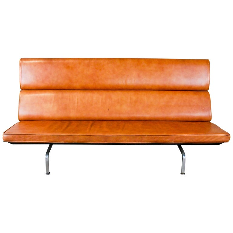 charles and eames for herman miller sofa compact