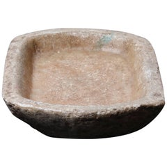 Primitive Stone Bowl