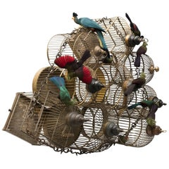 Turaco Cages from Exhibition Tier at Moa by Sinke & Van Tongeren