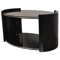 Oval Art Deco Couch Table