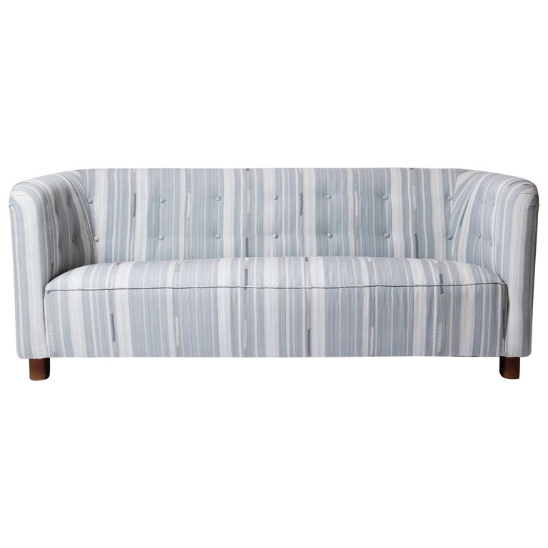 Ole Wanscher Three-Seat Sofa, Model 1668