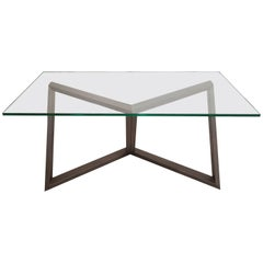 1970s Rebis Iron Table by Nato Frascà