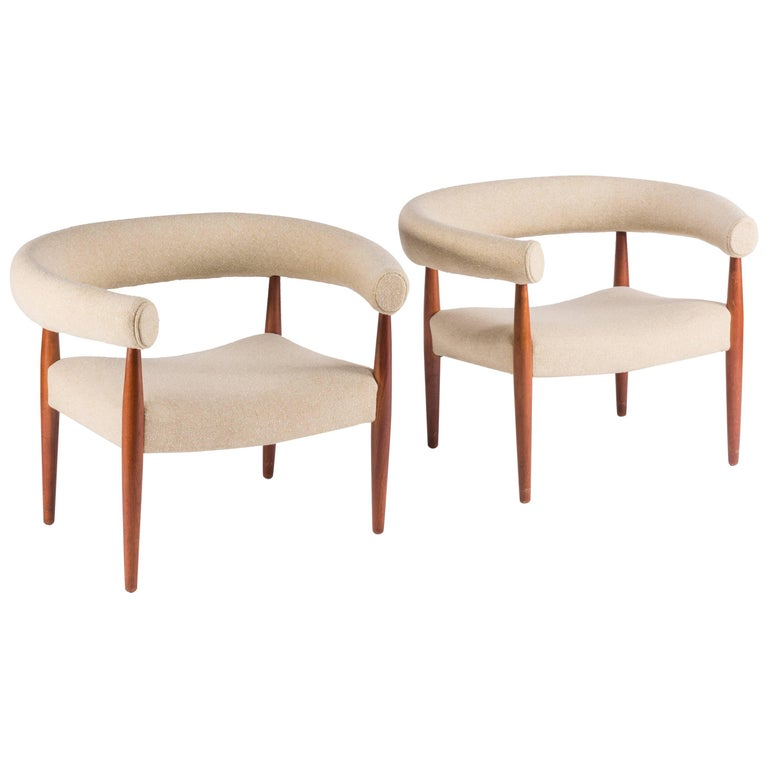 Pair of Vintage Lounge Chairs by Nanna Ditzel