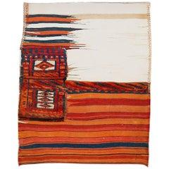 Vintage Tacheh Tribal Rug